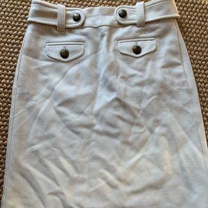 JCrew Winter White Skirt Size 0
